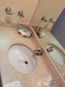 Vonios kambarys apgyvendinimo įstaigoje Bahia del Sol
