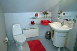 Et badeværelse på Falster Bed & Breakfast