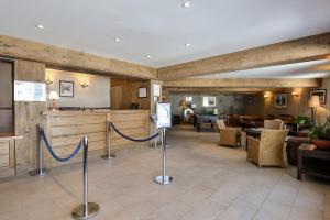 The lobby or reception area at Résidence Pierre & Vacances l'Albane