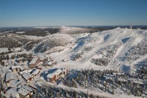 Ruka Ski Chalets during the winter
