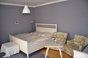 Krevet ili kreveti u jedinici u okviru objekta Apartmány u Petry