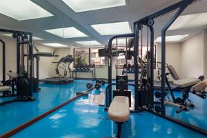 The fitness center and/or fitness facilities at Exe Suites San Marino