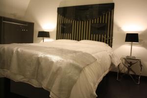 Cama o camas de una habitación en Los Balcones del Arte