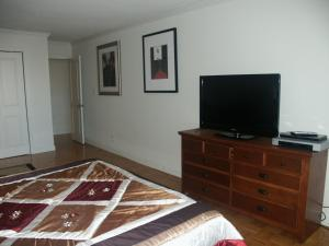 A television and/or entertainment center at Charlesview Suites Back Bay