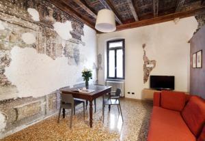 Area soggiorno di Residenza Roccamaggiore