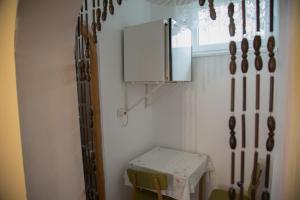 A bathroom at ABCD Apartmanház