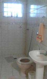 Um banheiro em Casa Chapada dos Guimarães