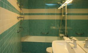 Kupatilo u objektu Villa Rock