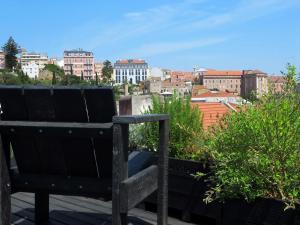 Uma varanda ou terraço em The Lisbonaire Apartments