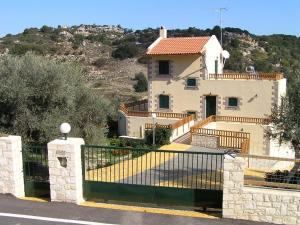 Il quartiere o una zona nella vicinanze della villa