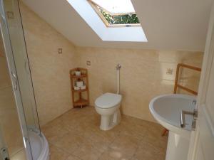 Koupelna v ubytování Traumblick Appartement am Balaton