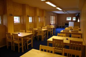 Restoran või mõni muu söögikoht majutusasutuses Laugu Guesthouse