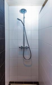 Een badkamer bij Vakantiebungalow Texel