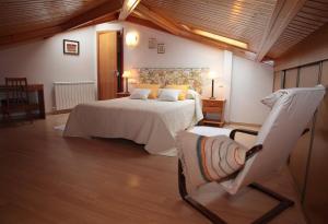 Cama o camas de una habitación en Apartamento Los Mesones