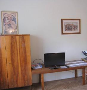 TV/Unterhaltungsangebot in der Unterkunft Apartmán Franek
