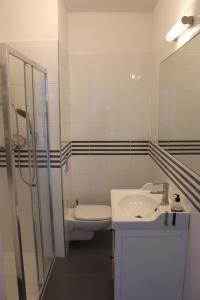 A bathroom at Baltic Sea Apartment