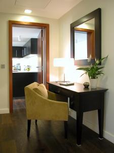 Un baño de Atelier Apartments by BridgeStreet
