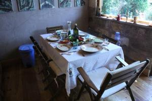 A restaurant or other place to eat at Stone House with Garden in Cunda/Ayvalik