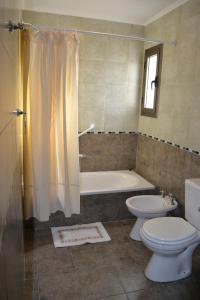 Un baño de La Casa Grande