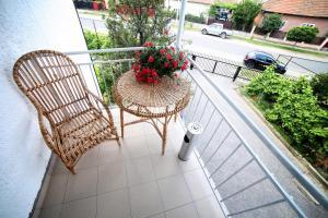 A balcony or terrace at Villa Elena