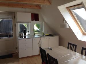 Een keuken of kitchenette bij Hornum Country Apartment