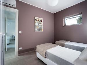 Cama o camas de una habitación en Isola Bella