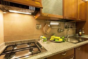 A kitchen or kitchenette at Clodio Halldis Apartment