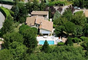 A bird's-eye view of Villa Liodrey les Pins