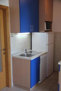 A kitchen or kitchenette at Apartment Pamic
