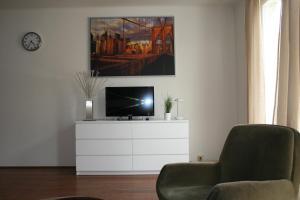 TV/Unterhaltungsangebot in der Unterkunft Apartment Mirabell