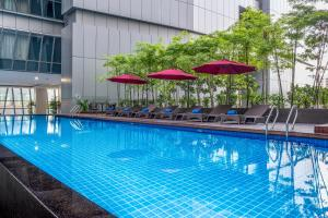 The swimming pool at or near Ascott Sentral Kuala Lumpur