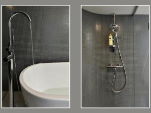 A bathroom at Spaarne Loft