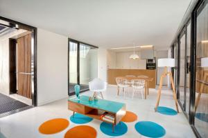 Un lugar para sentarse en Escala83 Apartamentos