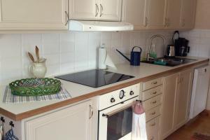 Ett kök eller pentry på Sjöbredareds Gård