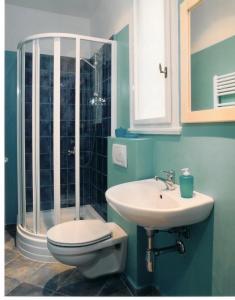 Ванная комната в Residence Konvi