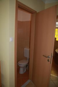 Koupelna v ubytování Zrínyi Apartman