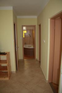 Kuchyň nebo kuchyňský kout v ubytování Zrínyi Apartman