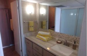 Phòng tắm tại Cond. Marina Lanais
