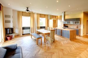 Küche/Küchenzeile in der Unterkunft Appartements Coloman
