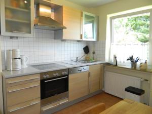 Küche/Küchenzeile in der Unterkunft Landhaus Lüneburger Heide