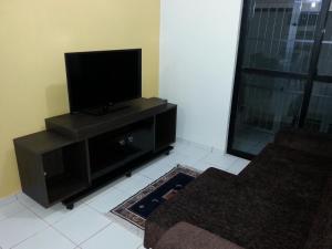 A television and/or entertainment center at Apartamento Asturias