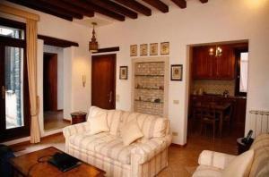 A seating area at Venice Salute Appartamenti