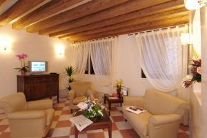 Zona de estar de Residence Corte Grimani
