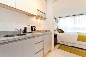 A cozinha ou cozinha compacta de Departamentos Costa Nueva de Lyon