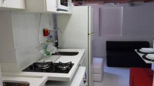 A kitchen or kitchenette at Loft frente UNB