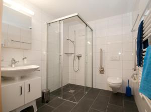 Ein Badezimmer in der Unterkunft Alpbachstrasse 4, Meiringen