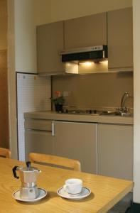 A kitchen or kitchenette at Villa Principe