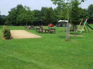 Children's play area at Holiday home OSSA Basecamp