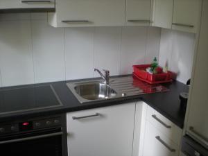A kitchen or kitchenette at Parsennresidenz