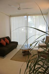 A seating area at Casa Sak Tuunich
